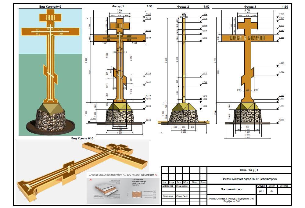 Изготовление православного креста